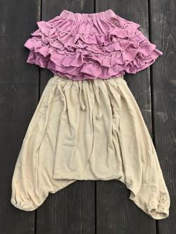 asana KIDS フリル スカート