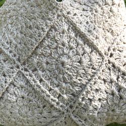asana HEMP100% 手編みバッグ