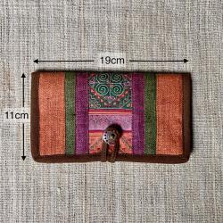HEMP & 古布 財布 (大)