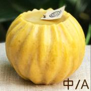 ちろりろうそく みつろうキャンドル・球彫り/中/A
