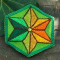 C:麻柄六角形