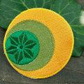 グリーン: 麻と月と太陽